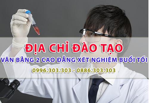 Địa chỉ đào tạo văn bằng 2 Cao đẳng Xét nghiệm TPHCM chất lượng