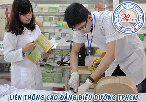 Địa chỉ học Cao đẳng Điều dưỡng TPHCM uy tín