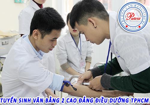 Thời gian đào tạo Văn bằng 2 Cao đẳng Điều dưỡng TPHCM