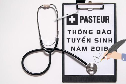Pasteur Thông báo tuyển sinh năm 2018