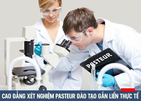 Cao đẳng Xét nghiệm Pasteur đào tạo gắn liền thực tế