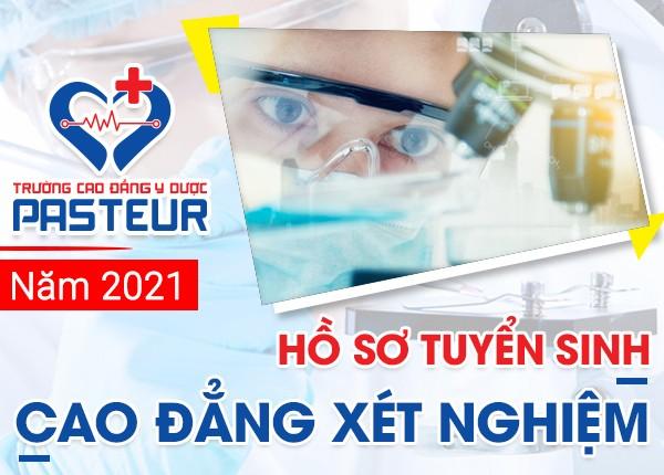 Hồ sơ xét tuyển Cao đẳng Xét nghiệm TPHCM năm 2021