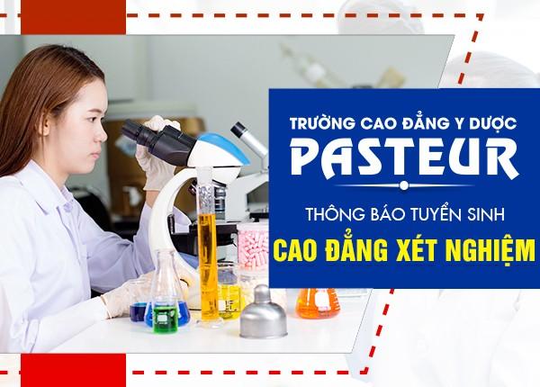 Thông báo tuyển sinh Cao đẳng Xét nghiệm TPHCM năm 2021